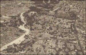 Aerial-view-Cypress-Hills-Cemetery-Year-Unknown