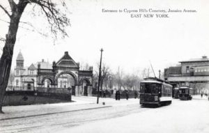 Entrance-to-Cypress-Hills-Cemetery-Jamaica-Ave-NY-Year-Unknown