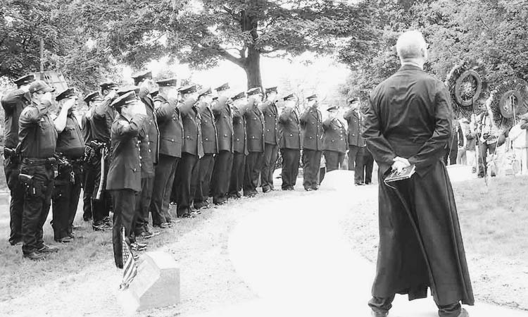 Police-Funeral-Cypress-Hills-Cemetery