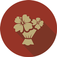 flowers-in-bunch-icon