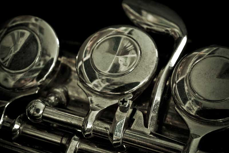 Close-up-of-flute